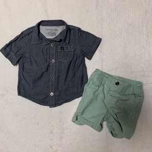 Calvin Klein summer outfit 6-9 months